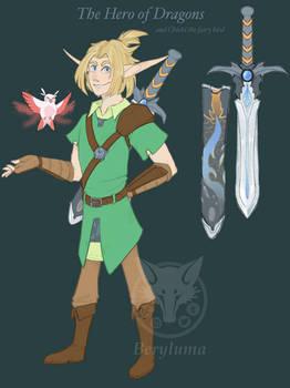 Link . Hero of Dragons - lozHoD
