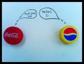 Cola vs. Pespi by Echlon