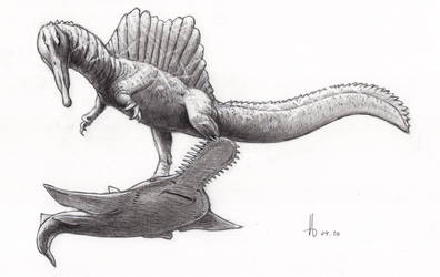 Spinosaurus aegyptiacus 2020