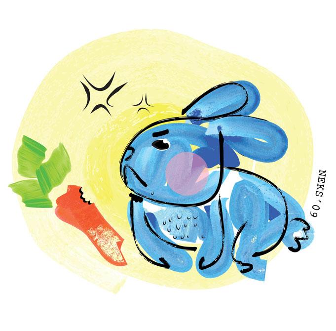 why o mr. rabbit by Neneisme