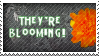 They're Blooming Stamp by jemgirl