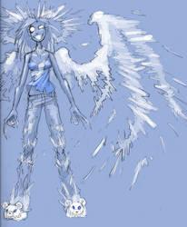 Angel Alex sketch by squidbunny