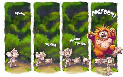 Pigfoot by squidbunny