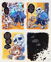 Dear Friend (Undertale Megaspoilers) by squidbunny