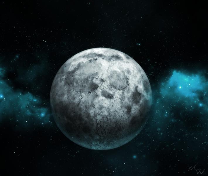 Moon by MysteriaWraith