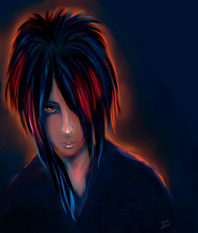 Shinji (Shiva) by MysteriaWraith