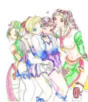 Soul Calibur IV Girls by syahilla