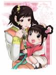 Xianghua and Leixia_colored