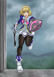 Cassandra Soul Calibur III for Zeshgolden by syahilla