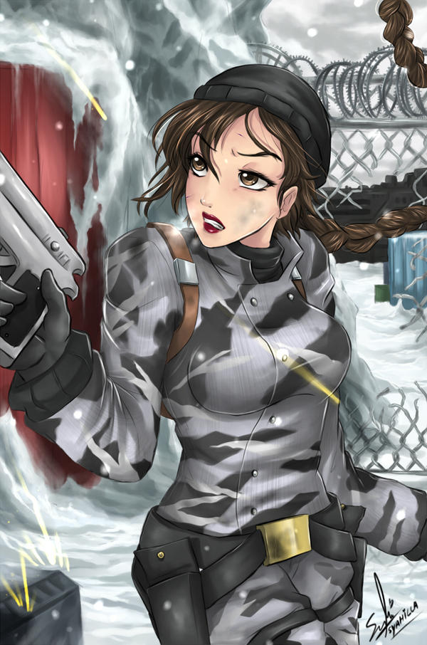 Tomb Raider 5 Lara- snow by syahilla