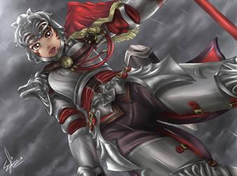 Death awaits, prepare yours- Hilde Soul Calibur IV by syahilla