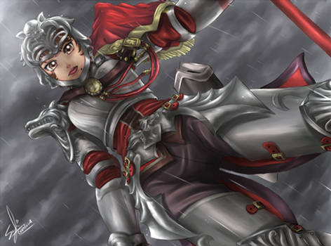 Death awaits, prepare yours- Hilde Soul Calibur IV