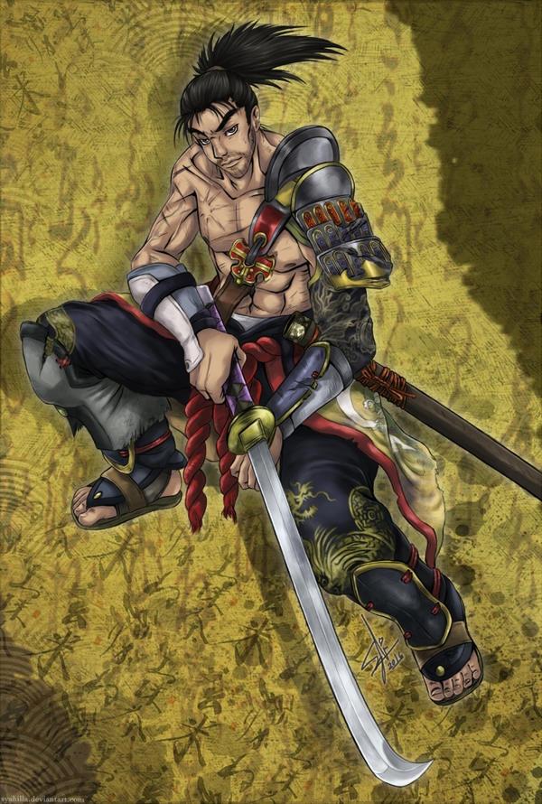 Soul Calibur IV - Heishiro Mitsurugi by syahilla