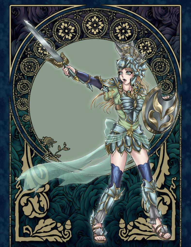 I.. I will protect Pyrrha! by syahilla