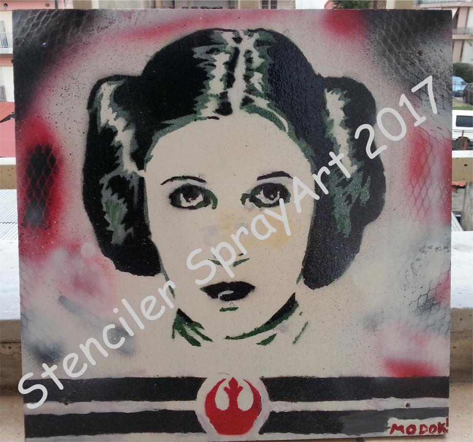 Princess Leia Organa by ModokSprayArt