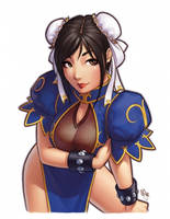 Chun-Li by WarrenLouw