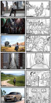 Storyboarding 2008 - 2010