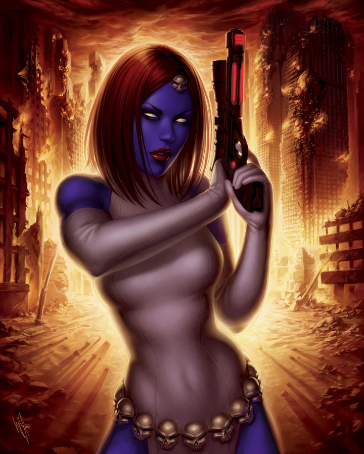 War of Heroes - Mystique II by WarrenLouw