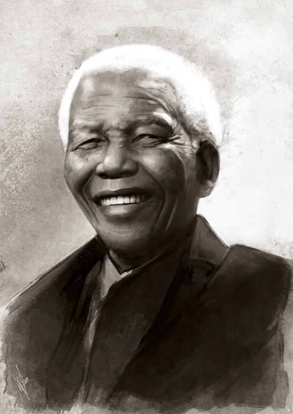 Madiba Tribute by WarrenLouw