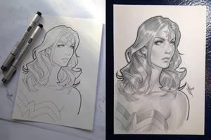 Wonder Woman COPIC prac. by WarrenLouw