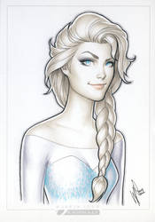 Elsa SDCC'14 by WarrenLouw