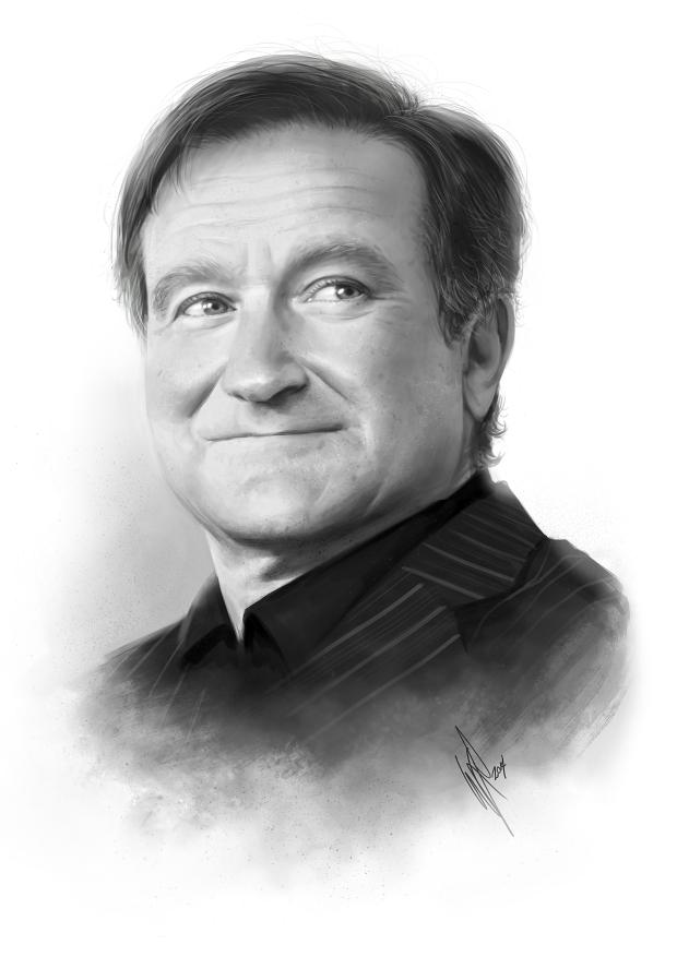 Robin Williams Tribute by WarrenLouw