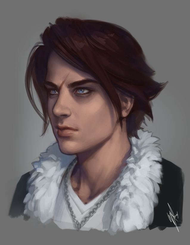 Squall Leonhart by WarrenLouw