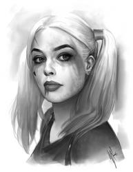 Harley Quinn study by WarrenLouw