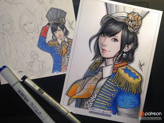 Sayaka Yamamoto by WarrenLouw