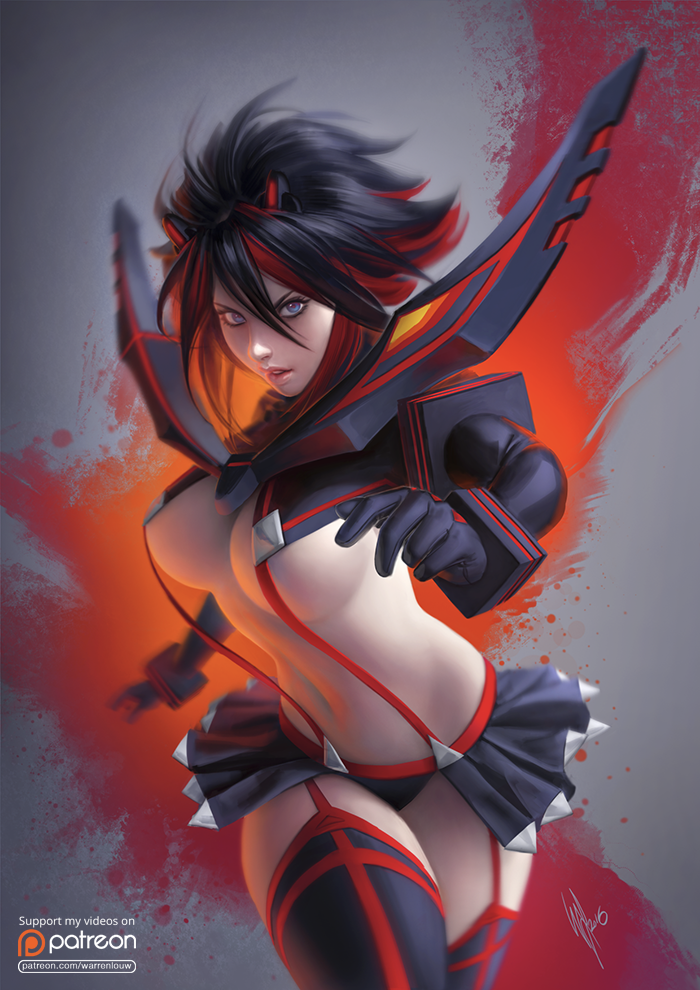 Ryuko Matoi by WarrenLouw