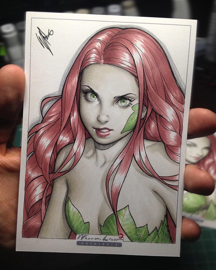 Lil Poison Ivy by WarrenLouw