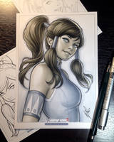 Korra by WarrenLouw