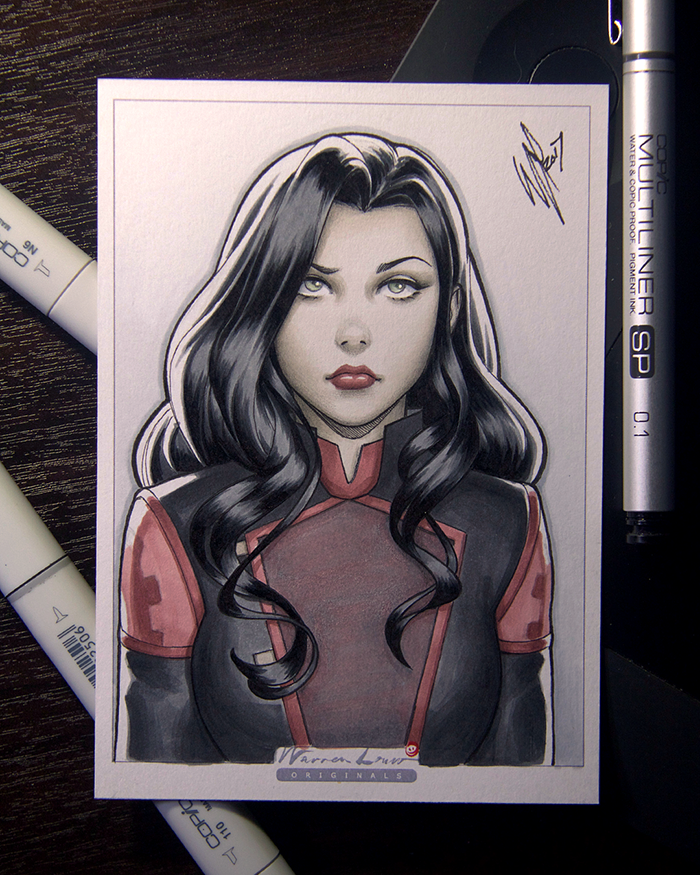 Asami by WarrenLouw