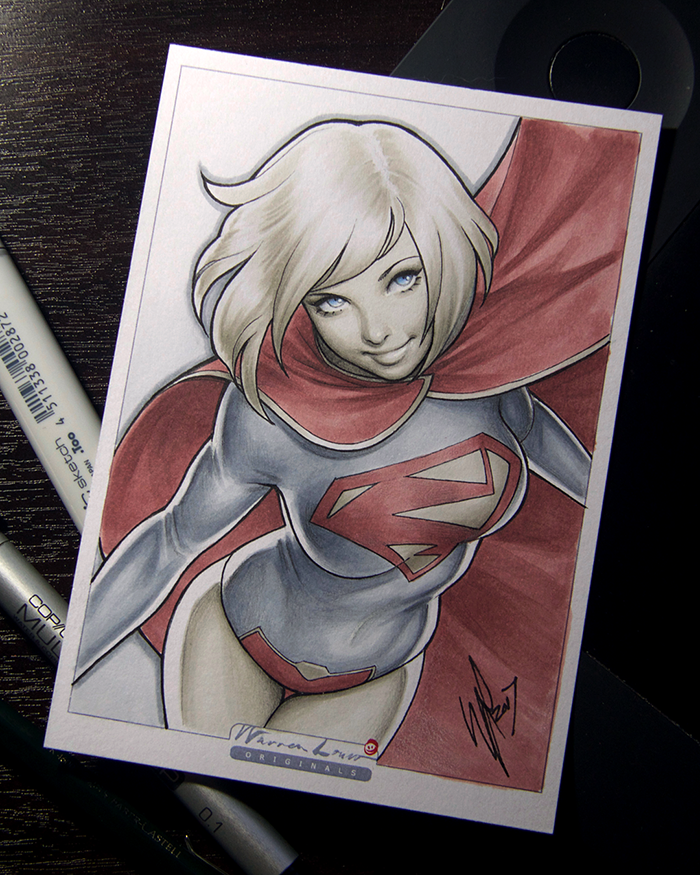 New 52 Supergirl by WarrenLouw