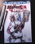 Harley Quinn sketch cover IV