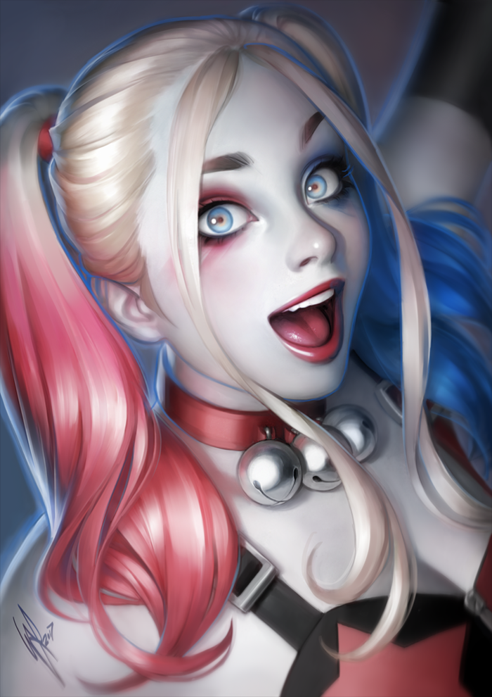 Young Harley Quinn by WarrenLouw