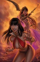 Vampirella / Dejah Thoris #1 by WarrenLouw