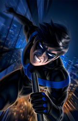 Nightwing #60 by WarrenLouw