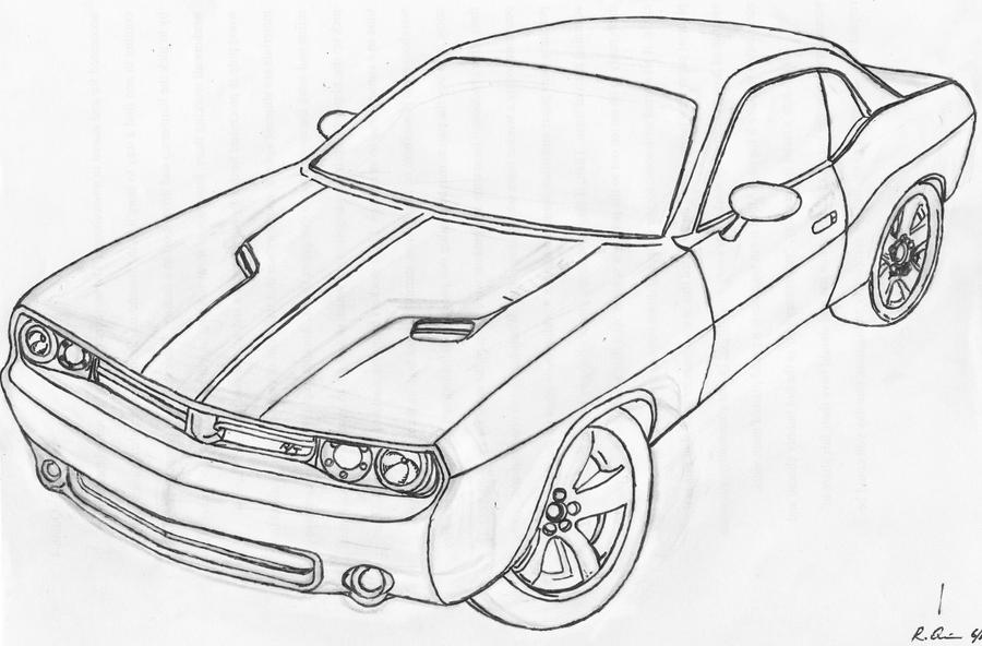 1970 dodge challenger coloring pages pictures to pin on
