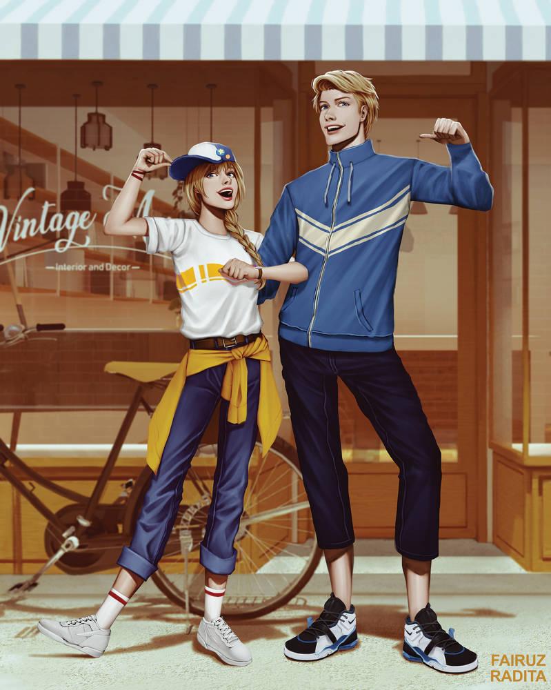 Couple Fashion by zoeragez
