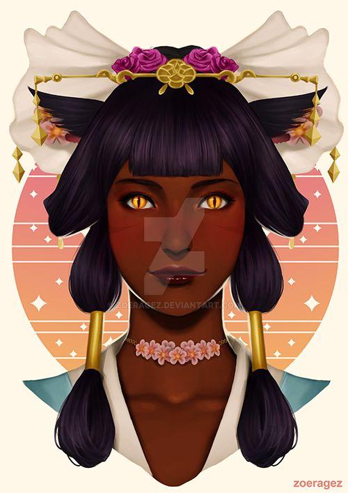 CM : Divine Maiden by zoeragez