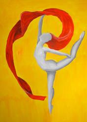 Dancing Muse by NSmoerebroet
