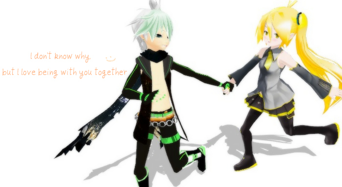 MMD Hold my hand by xinshin