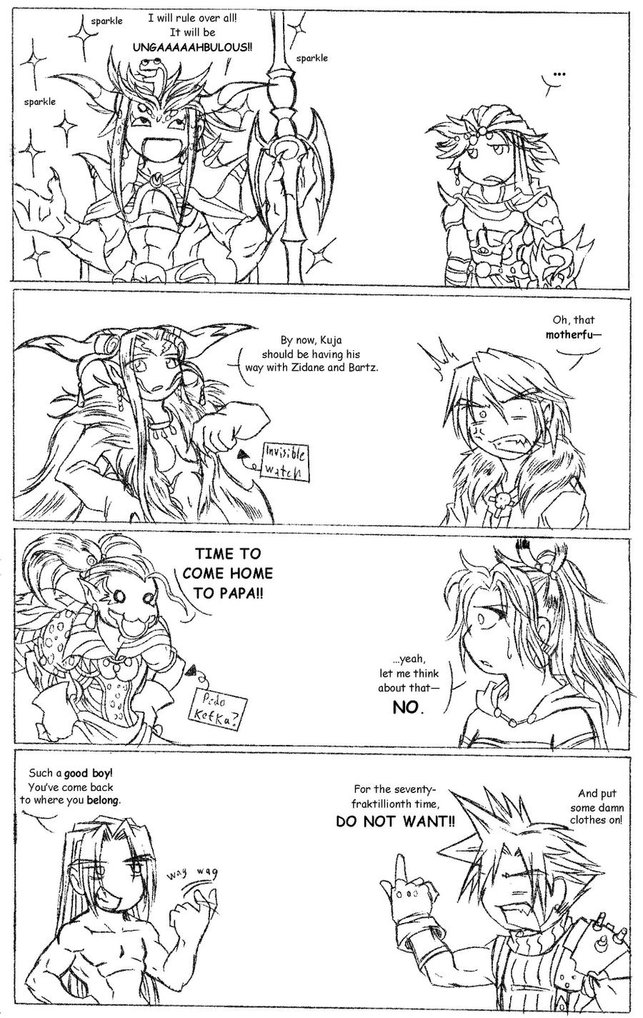 Dissidia - Foe Yay by Ra-HiME