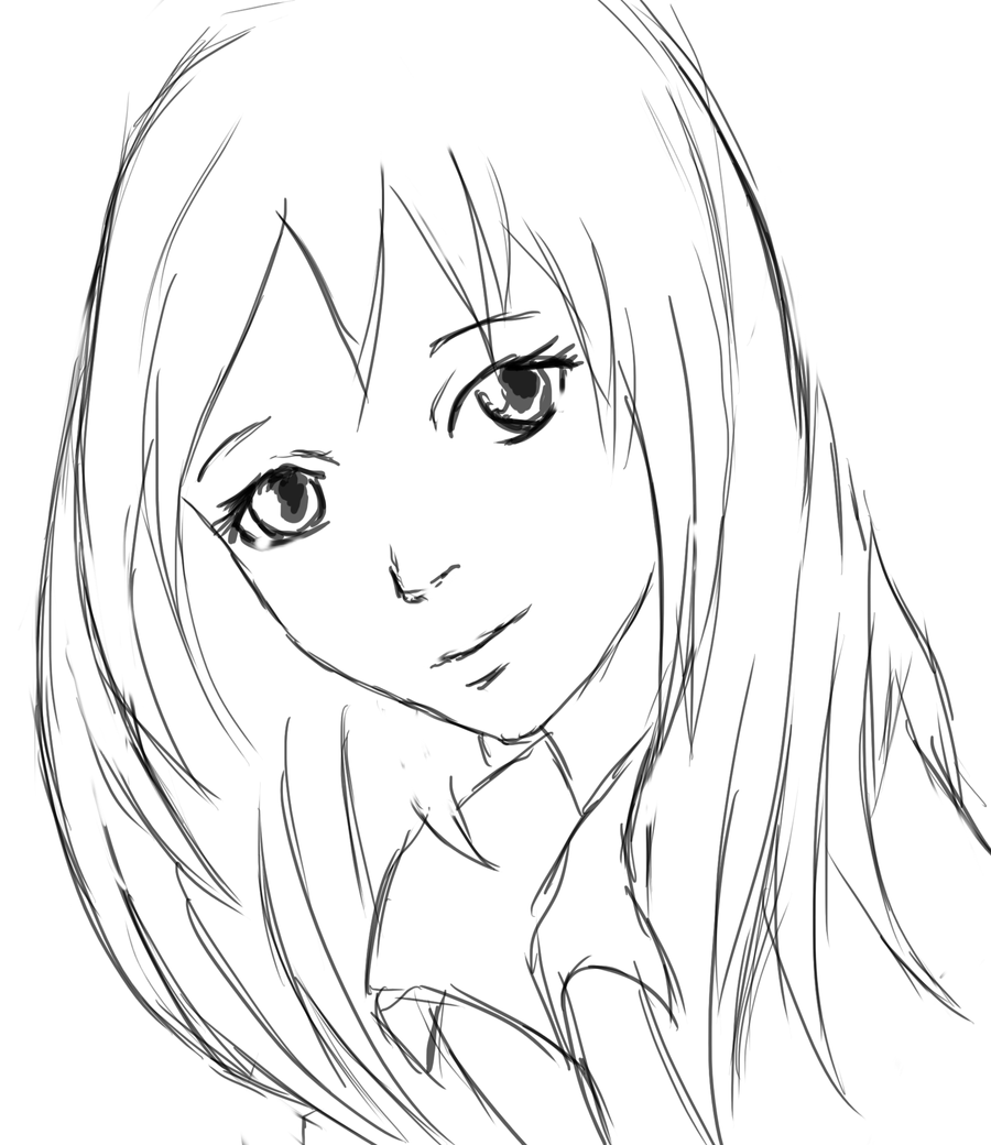 Line Art Anime : Line art by orrinoco on deviantart