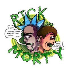 Rick And Morty Design by Super-Gia