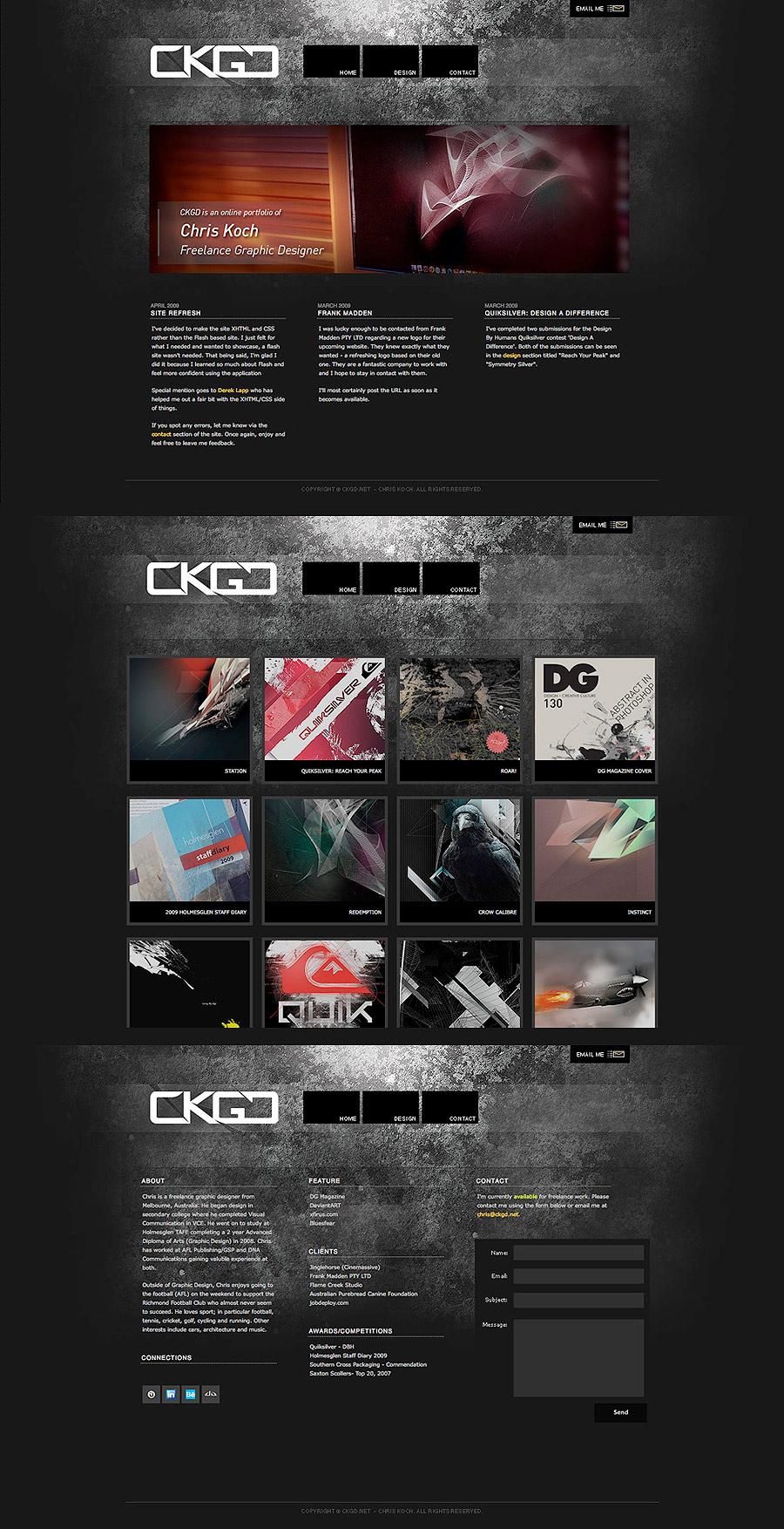 CKGD.net Website Version 2 by kocho