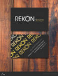 REKON business card
