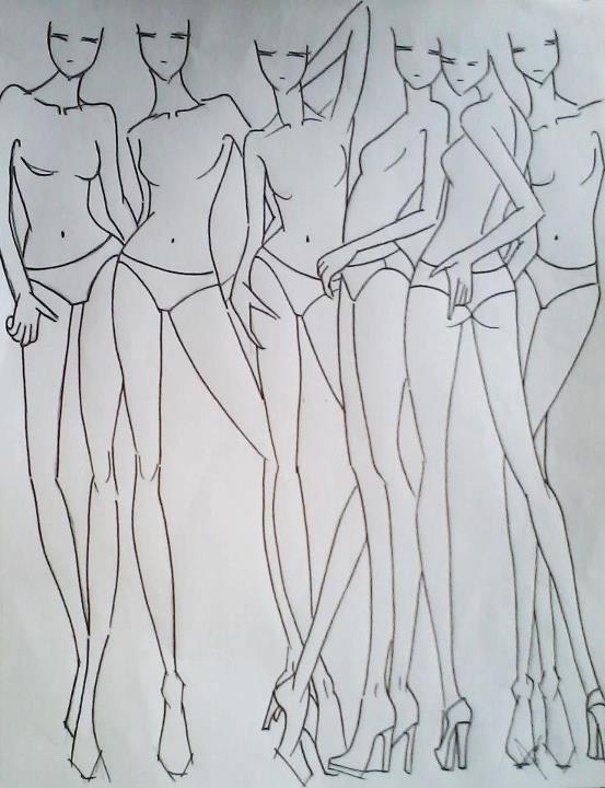fashion template by cecilfd20 on DeviantArt