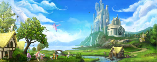 Once upon a time in Equestria by Devinian